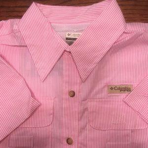 New Columbia PFG short sleeved shirt